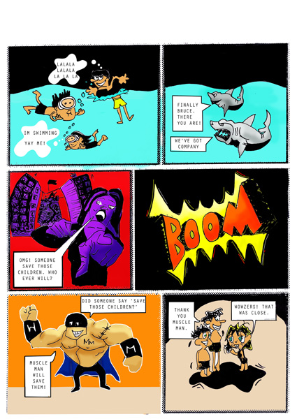 Ari Storyboard