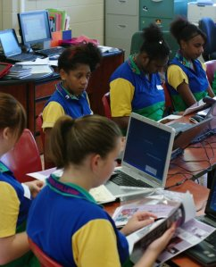 Students Start Work